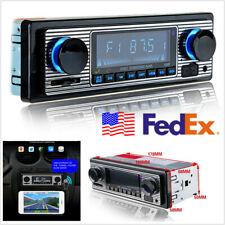 USA Stock In-Dash Car 4-CH High Power Bluetooth Stereo MP3 Player FM AUX USB SD