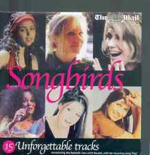 SONGBIRDS - UK PROMO CD: EVA CASSIDY, DIANA ROSS, HONEYZ, KIM CARNES, MICA PARIS