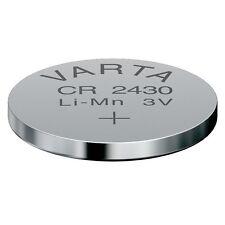 2x Lithium Knopfzelle Batterie Varta CR2430 Varta Type 6430