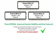Roland MKS-70 - Version 1.08 & Board Rome 1.06 (x2) Firmware OS Upgrade for