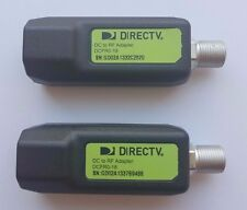 DirecTV DC To RF Adapter ( 2 Pack ) DCFR0-01 or DCFR0-18 BroadBand Deca Cinema