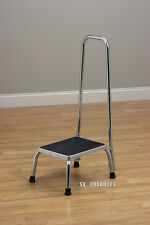 Brand New Safety Step Stool with Handle and Rubber Top Tread for Safety - 250
