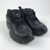 Nike Mens Comfort Athletic Sneakers Black Lace Up Workwear Shoes 10 EUR 44 M