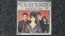 """Novecento-Movin 'on 7"""" single sung in English GERMANY"""