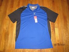Nwt Ben Hogans Men'S Blue & Black, Gray S/S Golf Shirt Size L $65