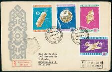 Mayfairstamps Mongolia FDC Spacecraft Combo Registered First Day Cover wwi_05575
