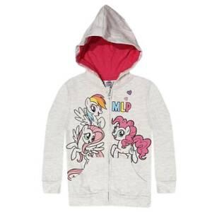 My Little Pony Girls Hoodie Sweatjacket Jumper