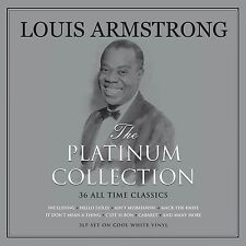Louis Armstrong PLATINUM COLLECTION Best Of 36 Songs NEW COLORED VINYL 3 LP