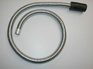 "Boiler Soot Cleaning Flexible Vacuum Cleaner Snake Hose 48"""