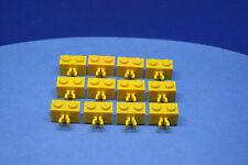 LEGO 12 x Stein Vertikal Clip 1x2 gelb yellow brick with clip 30237 4113206