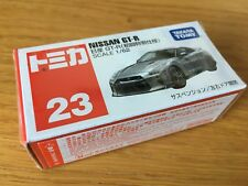 Tomica Nissan GT-R Silver Diecast Car Scale 1/62 not Hot Wheels