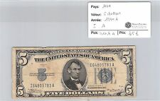 BILLET USA - 5 DOLLARS 1934 A - I.A