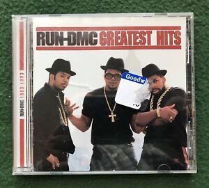 Run DMC Greatest Hits CD 1983 - 1993 Rap Hip Hop It's Tricky Walk This Way