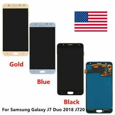 For Samsung Galaxy J7 DUO 2018 SM-J720 J720F J720M LCD Touch Screen Digitizer