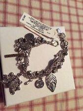 $45 Lucky Brand Peacock Charm Bracelet A426
