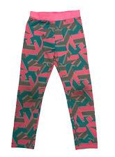 Puma Pink/ Blue/ Gray Leggings Girl's 6X (H-1N)