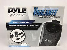 New Pyle Portable HD Camera Wireless AudioVideo Recording Water Resist PPBCM10