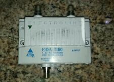 ELECTROLINE EDA-2100 SIGNAL BOOSTER  CABLE DIGITAL AMPLIFIER TESTED EXCELLENT