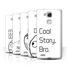 STUFF4 Phone Case/Back Cover for Huawei Ascend Mate7 /Funny Internet Memes