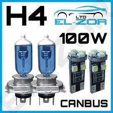 H4 Xenon Weiß 100W 501 SMD CANBUS Standlicht 12V Scheinwerfer Glühbirnen Licht
