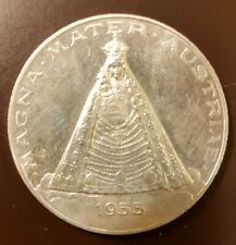 Wallfahrtsmedaille 900er Silber 1955 Mariazell 1157-1957 Basilika Magna Mater