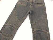 BDG Jeans Sz 27 Womens Cigarette Gray Black Ankle Zipper Skinny Pants