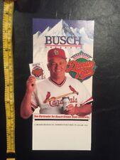 1986 St. Louis Cardinals Whitey Herzog Busch Dream Team Display Beer Bar