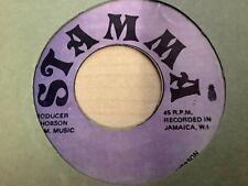 """Roman Stewart - Oh Lord / Version 7"""" Stamma K. Hudson  7"""" mp3 Listen"""