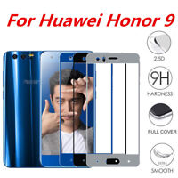 For Huawei Honor 9 Full Covered HD Tempered Glass Screen Protector Film Cover cn