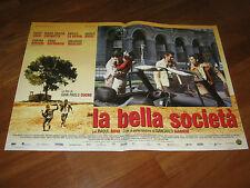 Fotobusta,LA BELLA SOCIETA' ,RAOUL BOVA,CUCINOTTA,auto car,COCO,LO VERSO