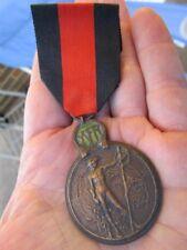 Original WWI Belgium YSER Commemorative War Medal 1914 ~ BIG COLLECTION!!!
