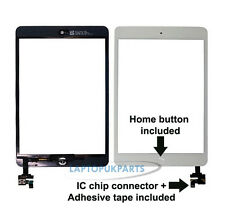 New For Ipad Mini MD528FD/A White Touch Glass Lens Digitizer Panel UK Dispatch
