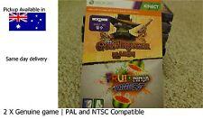 xbox 360 game x 2 : the Gunstringer & Fruit Ninja Kinect full game Download card