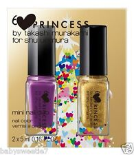Shu Uemura 2013 X'mas Takashi Murakami Collection Mini Nail Duo Purple Gold Set