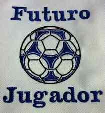 """Futuro Jugador """"Fútbol"""" Body de Bebé Bordado"""