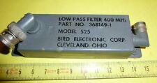 RF HF low pass filter 400 MHz/Bird Electronic