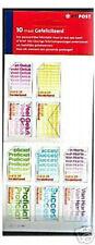Nederland 2051-5060 10xgefeliciteerd 2002 postfris/mnh