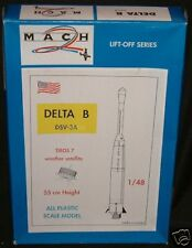 SPACE : USAF Delta B DSV-3A rocket                 (DJ)