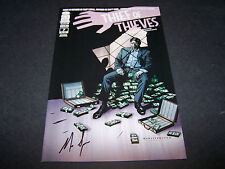 SIGNED NICK SPENCER THIEF OF THIEVES #7 2ND PRINT SOON TO BE AMC TV SERIES