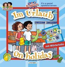 Englisch spielend lernen Im Urlaub on holiday m. Wörterlotto für die Grundschule
