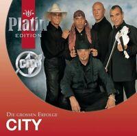 CITY - PLATIN EDITION-DIE GROßEN ERFOLGE  CD NEU