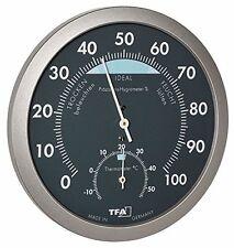 TFA Dostmann - termo-igrometro, antracite/grigio, 120x 37x 120cm, (z1v)