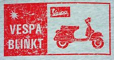 VESPA SCOOTER Baby Doll T-shirt w/retro logo NEW youth/juniors small