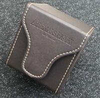 Original Audemars Piguet AP Brown Leather Padded Watch Travel Carry Storage Case