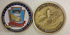 NAVY USS PENNSYLVANIA SSBN-735 SUBMARINE FORCE BOOMER PRIDE CHALLENGE COIN