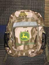 Personalized COLTON John Deere Backpack Full Size EUC