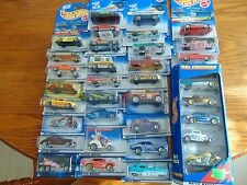 LOT OF 34  HOT WHEELS 1990s  & 2000s New in package    Free   SHIPPING LOT #506