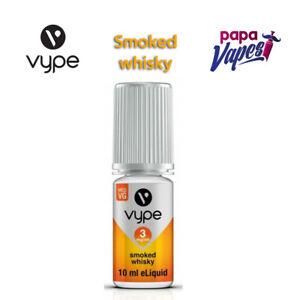 VYPE E-LIQUID   SMOKED WHISKY   VAPE JUICE   3MG/6MG/12MG   10ML   FAST DELIVERY