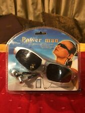 Power Man FM Radio Sunglasses With MP3 Support