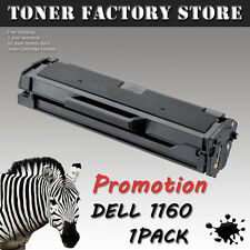 1PK 1160 New Black Toner 331-7335 HF442 For Dell Laser Printer B1160 B1160W